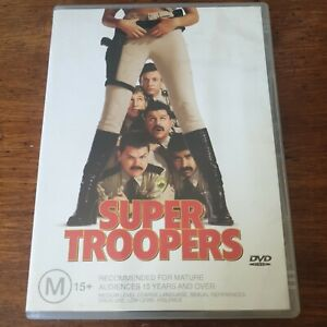 Super Troopers DVD R4 Like New! FREE POST