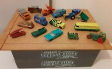 JOB LOT of Lesney Matchbox series, 1-75,  Moko, Husky, diecast vintage cars