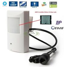 1080P IR Audio Wireless Pir Wifi Pinhole IP Hidden Spy Camera With SD Card Slot