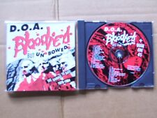 D.O.A.,BLOODIED BUT UNBOWED / WAR ON 45 , cd m(-)/m(-) restless rec. Canada 1992
