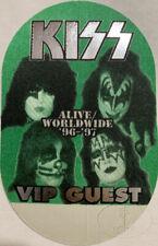 KISS 1996-97 Alive/Worldwide Tour Backstage Pass VIP