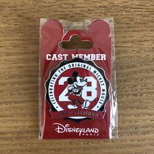 Pins Disney Cast Member Mickey 90 Ans 1928 Disneyland Paris
