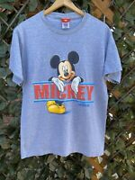 Vintage 90s Disneyland Walt Disney Mickey Mouse T Shirt Size Large VTG Mickey