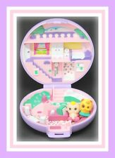 ❤️Polly Pocket Vintage 1989 Polly's Studio Flat Playset COMPACT Bluebird Toys❤️
