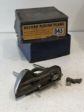Vintage Record No. 043 Plough Plane