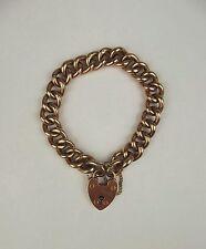 9 Carat Rose Gold Bracelet Edwardian Fine Jewellery