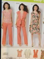 Simplicity Sewing Pattern 2618 Ladies / Misses Pants Jacket Top Size 20w-28w UC
