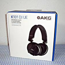 NEW AKG K181 DJ UE ULTIMATE EDITION REFERENCE CLASS HEADPHONES (BLACK)