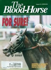 1995 The Blood-Horse Magazine #32: Unaccounted For Wins The Whitney/Strawbridge