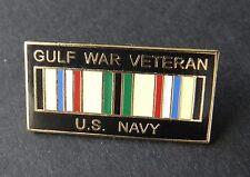USN Navy Operation Desert Storm Gulf War Veteran Vet Lapel Pin Badge 1 inch
