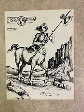 TSR RPGA NEWS Winter 1981 Issue 1 Volume 1 Number 1 Magazine AD&D Gygax VF #T956