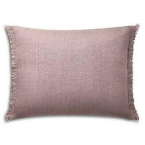Ralph Lauren Noland Notting Hill Purple Linen Deco Pillow NWT