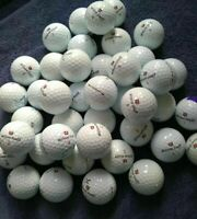 20 30 40 WILSON DX2 SOFT GOLF BALLS A/PEARL GRADE GREAT QUALITY JULY SALE