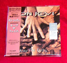 Bon Jovi Keep the Faith JAPAN SHM MINI LP CD UICY-94550