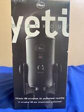 BlueYeti Professional Multi-Pattern Usb Condenser Microphone - Blackout