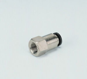 PCF FEMALE THREADED STRAIGHT PUSH IN FIT FITTING PNEUMATIC AIR SUSPENSION PISCO