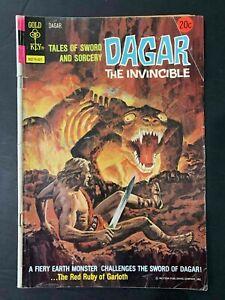 DAGAR THE INVINCIBLE #8  GOLD KEY COMICS 1974 VG+