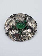 Theodor Fahrner Jugendstil Brosche Silber 800 punziert  ~1910-14