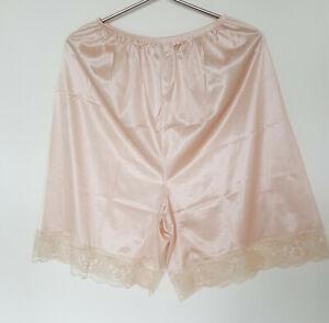 "Waist Slip Plus Size XL Sheer Nylon Half Slips Underskirt Pants Petticoat 23-40"""