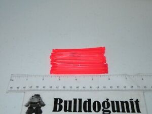 Lot of 8 Official K'nex Pink Bendable Rod Replacement Pieces Only