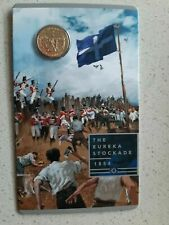2019 Australia $1 UNC Carded Coin Mutiny and Rebellion - THE EUREKA STOCKADE