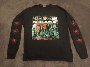 WHITE ZOMBIE Astro Creep 2000 Long Sleeve Double sided Shirt Rob NEW Rock Metal