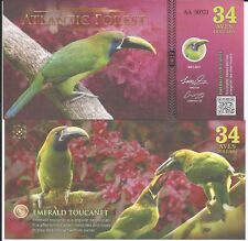 ATLANTIC FOREST BILLETE 34 AVES DOLLARS 2017