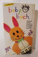 NEW and SEALED BABY EINSTEIN - BABY BACH (VHS, 2000) - CLASSICAL MUSIC TAPE