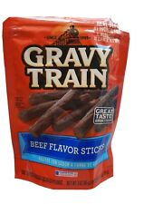 Gravy Train Dog Snacks Beef Flavor Sticks 3oz.