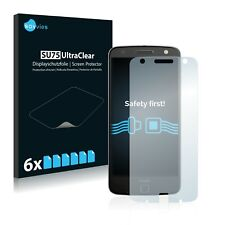 6x Savvies Screen Protector for Motorola Moto Z Ultra Clear