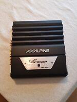 Alpine car audio amplifier 'V-Power' MRP-M350   Max 700W