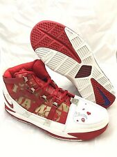 NEW DS Nike Zoom LeBron III (3) All Star Game Red 2005 Size 11.5 Mens 312147 163