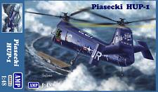 Helicopter Piasecki Hup-1 Retriever (Plastic model kit) 1/48 Amp 48012