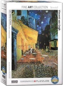 Vincent Van Gogh Cafe Terrace At Night 1000 piece jigsaw  680mm x 490mm (pz)