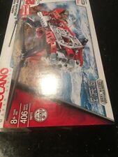 Meccano Maker 16211 Aerial Rescue Helicopter 20 Model Set 406pc Age8+ New Sealed