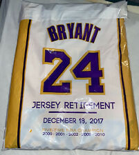 KOBE BRYANT •  LA LAKERS • 2 PACK • # 8 & # 24 RETIREMENT JERSEY, From Ceremony