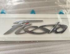 'Fiesta' Letter Emblem Rear Trunk Liftgate Sticker Logo Badge for Ford Fiesta