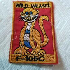 Usaf - 17th Wild Weasel Sqn, Thailand - Vietnam War Patch (A800)