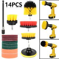 14pcs perceuse brosse électrique ensemble accessoires nettoyeur tapis nettoya LB