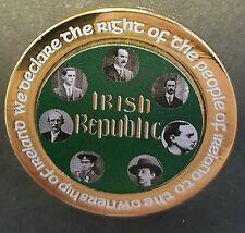 Irish Republic 7 signatories easter Rising proclamation gold badge