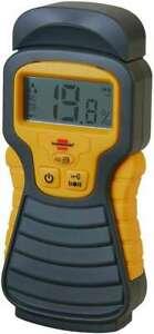 Brennenstuhl Feuchtigkeitsmesser MD, Materialfeuchte, Holz und Baustoffe