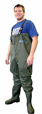 Shakespeare X-tackle PVC Nylon Chest Waders Size - 13 Pf1197254