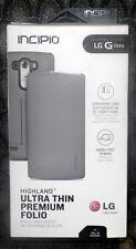 LG G Vista Incipio Highland Ultra Thin Premium Foli0 Gray Silver Phone Case