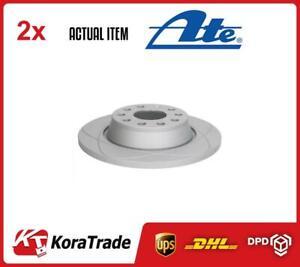 2 x ATE BRAKE DISC SET 240312-01691
