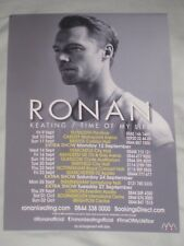 Ronan Keating MINI FLYER / ADVERT for live concert Time of my life tour 2016