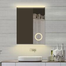 Lichtspiegel Badspiegel Badezimmerspiegel mit Led Licht & Schminkspiegel 61x80cm