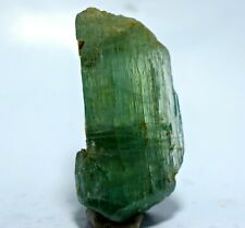 248 CT INCREDIBLY Full Terminated Transparent Green Spectacular Kunzite Crystal