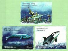Malaysia 2015 Endangered Marine Life (3v) ~ Mint