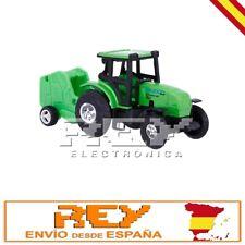 Tractor Cisterna Juguete Miniatura Vehículo Agrícola ¡Desde España j152