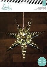 American Crafts Gold Star Paper Lantern 340580 Heidi Swapp Seven Point 17� New